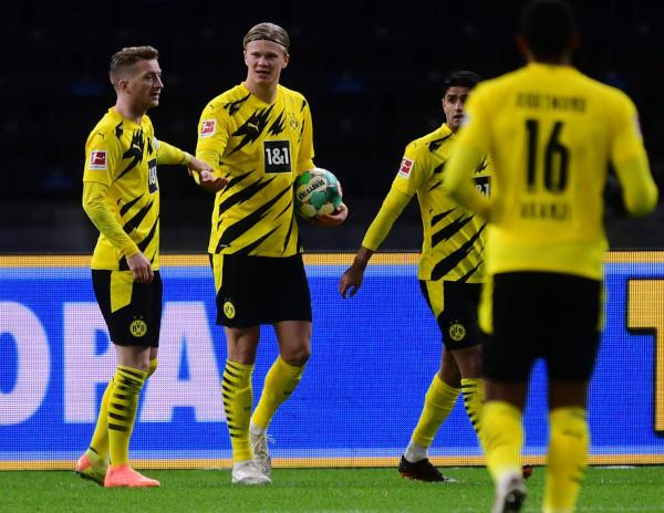 Četiri gola nevjerovatnog Halanda u trijumfu Dortmunda