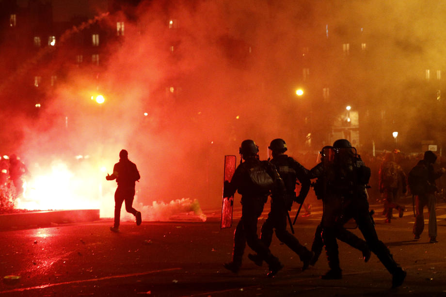 Zbog štrajka nastavljeni problemi u saobraćaju u Francuskoj