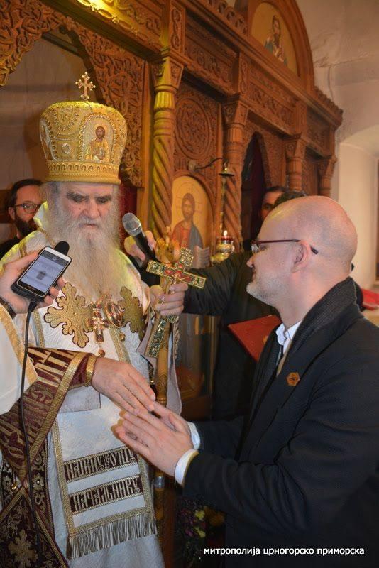 """Amfilohije odlikovao Beogradski sindikat, između ostalog i za pjesmu """"Dogodine u Prizrenu"""""""