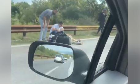 Danilovgrad: U udesu povrijeđen motociklista