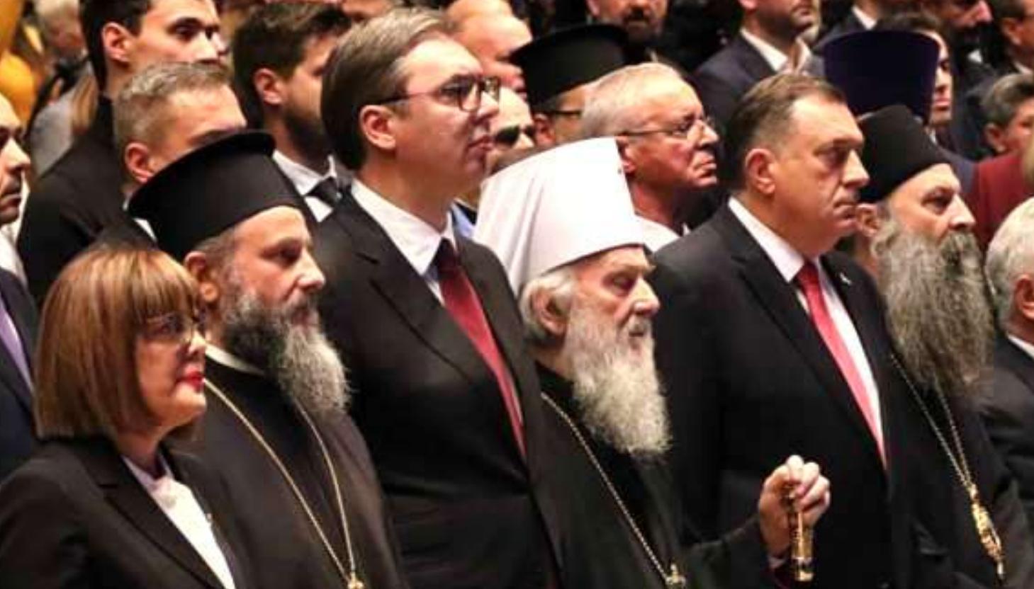Vaseljenska patrijaršija danas i liturgijski posvjedočila da prije 800 godina NIJE dala autokefaliju Srbima
