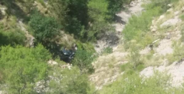 Saobraćajna nezgoda na putu Njeguši- Kotor: Zaspao za volanom, pa sletio u provaliju?