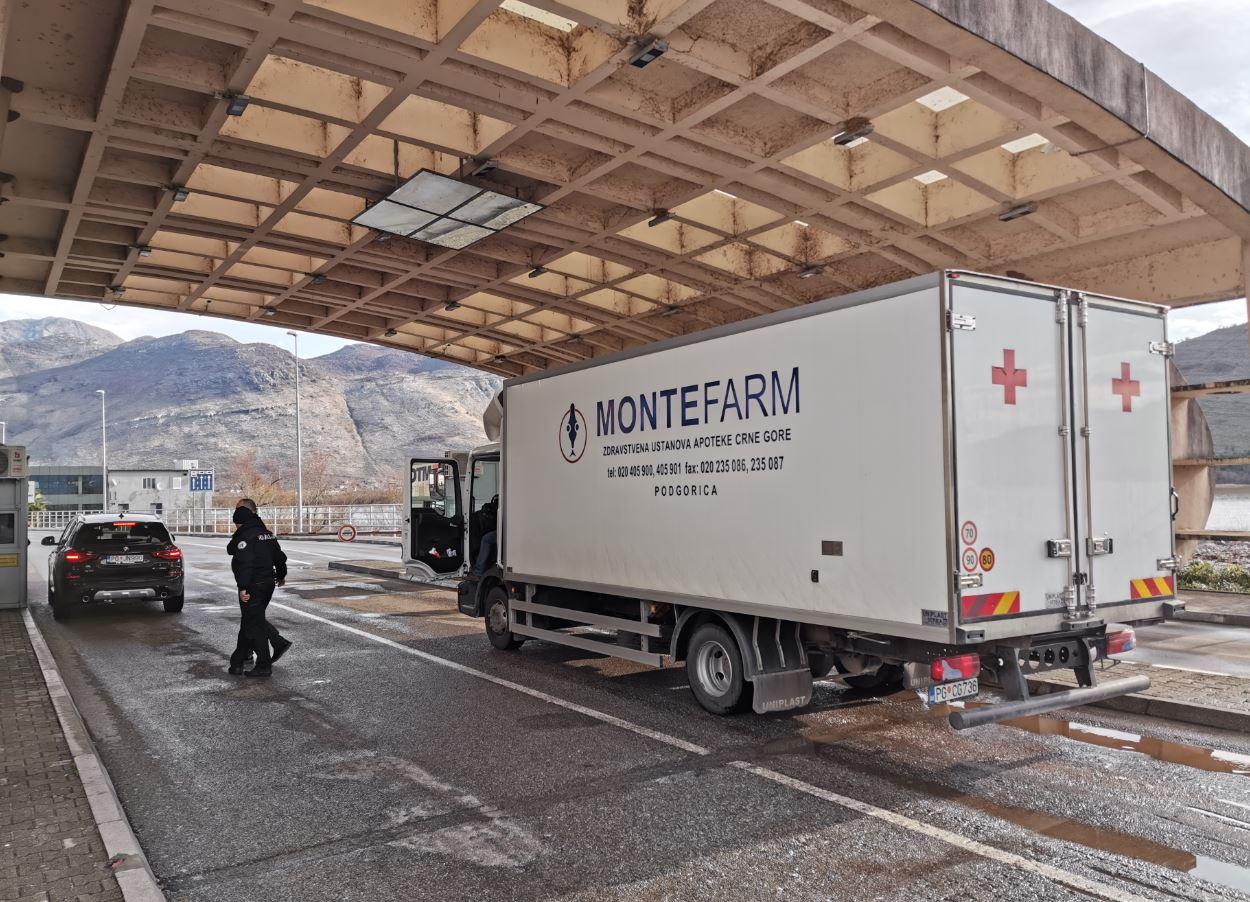 Krenula pomoć Crne Gore Albaniji