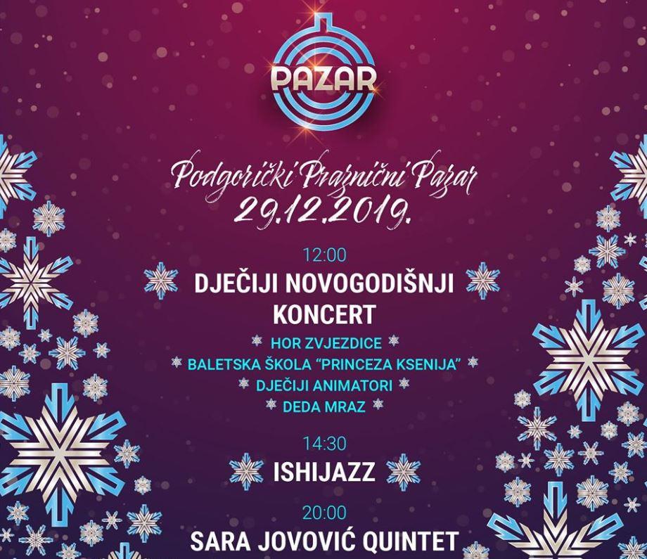 Dječji novogodišnji koncert danas u Podgorici, najmlađe očekuju razna iznenađenja