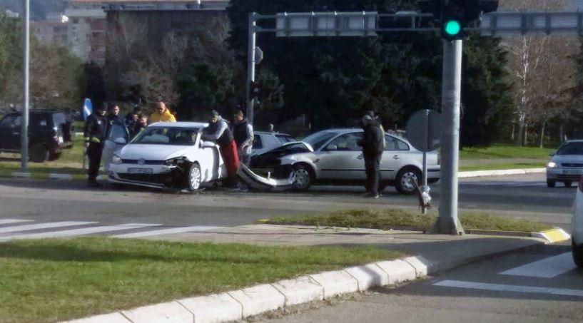 Saobraćajna nezgoda u Baru