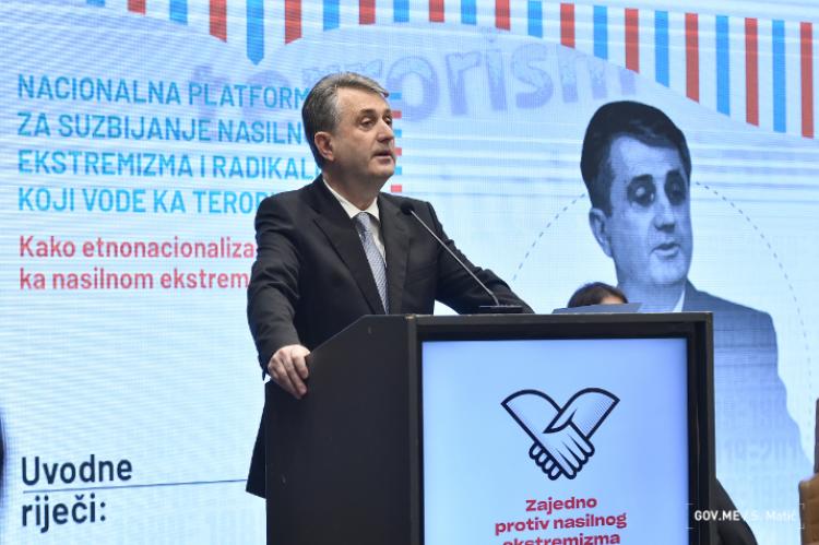 Nuhodžić: U Crnoj Gori nema mjesta za ekstremizam