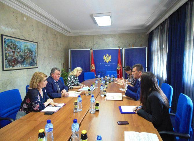 Pejanović-Šmit: MUP značajan partner Kancelarije Ujedinjenih nacija za droge i kriminal