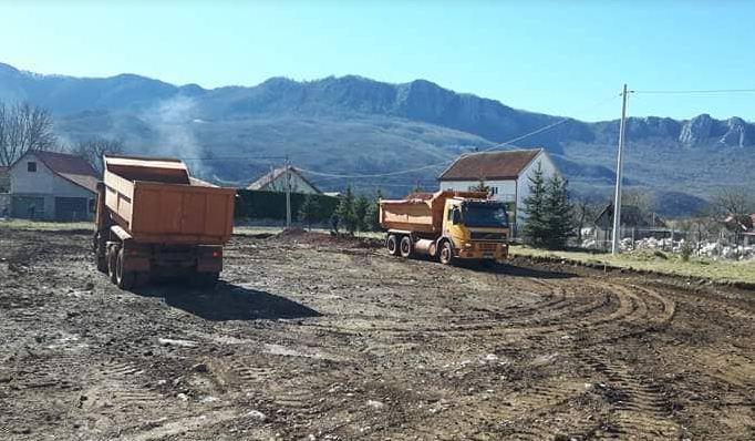 Počela gradnja poligona u Župi Nikšićkoj