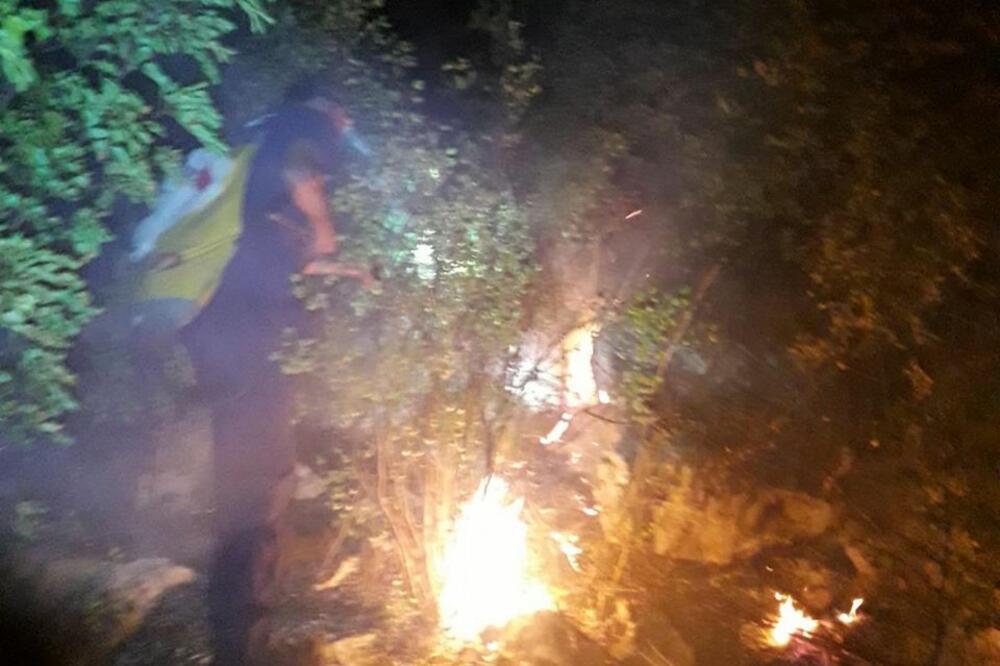 Ugašen požar kod Veljeg brda