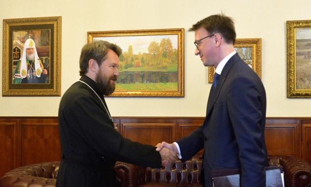 Budući ambasador Rusije u Crnoj Gori na sastanku u Moskovskoj patrijaršiji