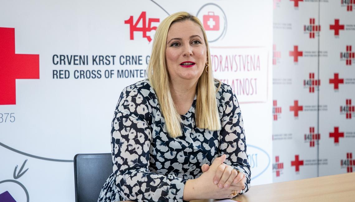 Dubak: Crnogorski građani humani u nevolji, ali je važno da humanitarni rad traje cijele godine