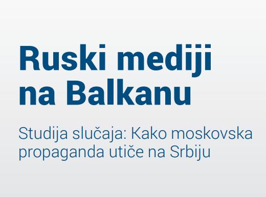 Tomas Braj: Ruski mediji na Balkanu stvaraju mišljenja bez mnogo veze sa stvarnim svijetom