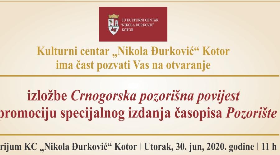 Izložba i promocija časopisa u Kotoru
