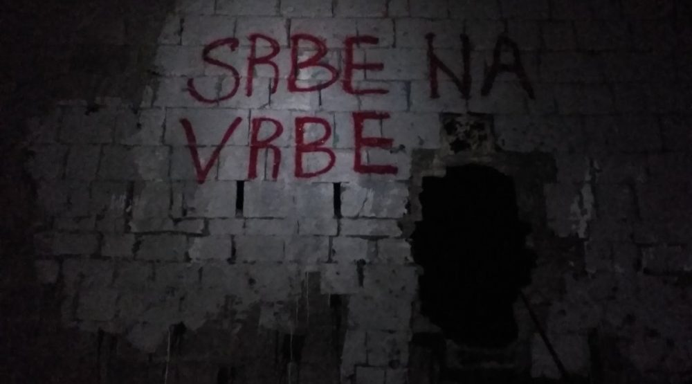 Ministarstvo: Osuđujemo novi vandalizam na Tabiji, građani da ne nasijedaju na provokacije