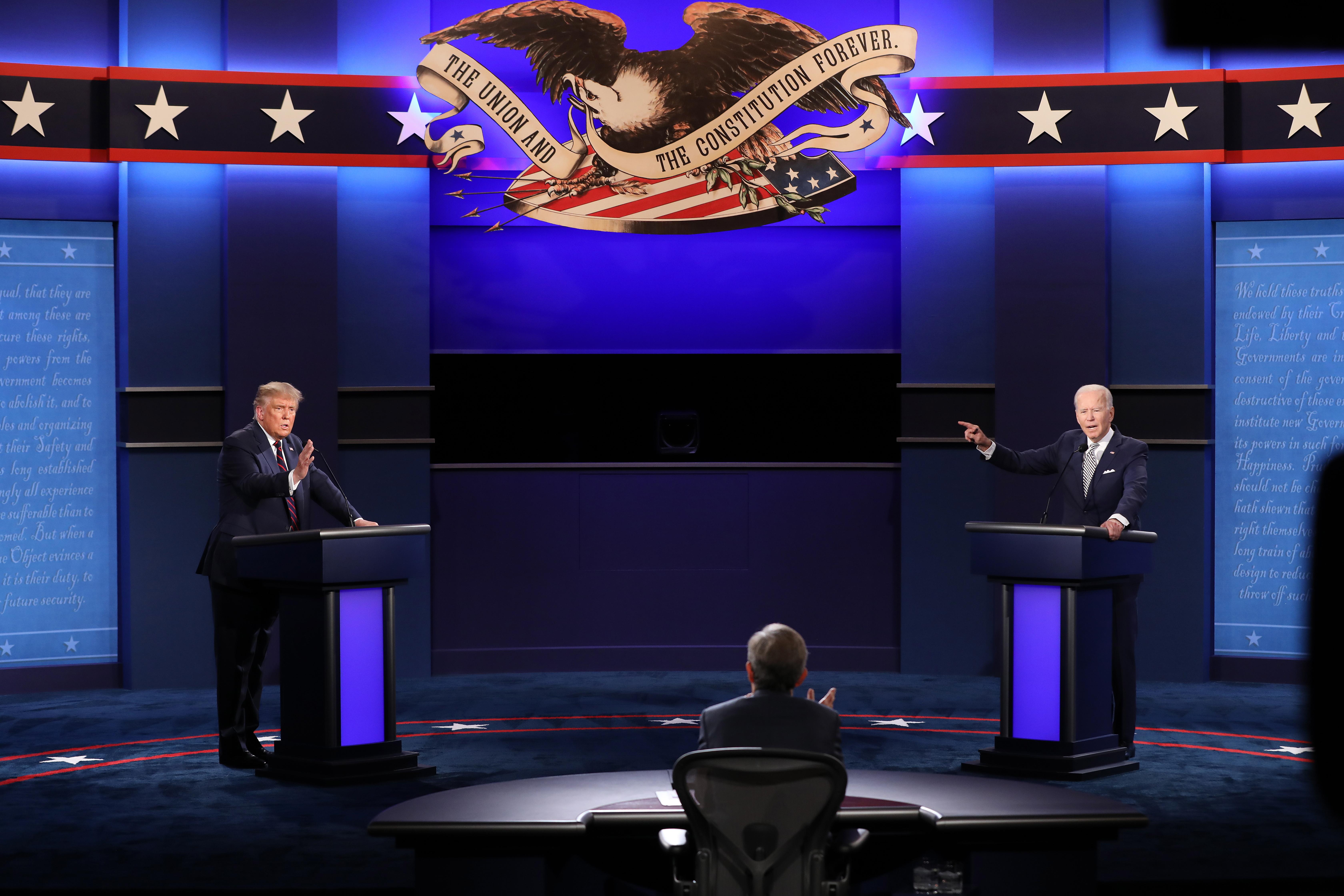 Prva debata Tramp–Bajden: Najhaotičnija debata u istoriji SAD
