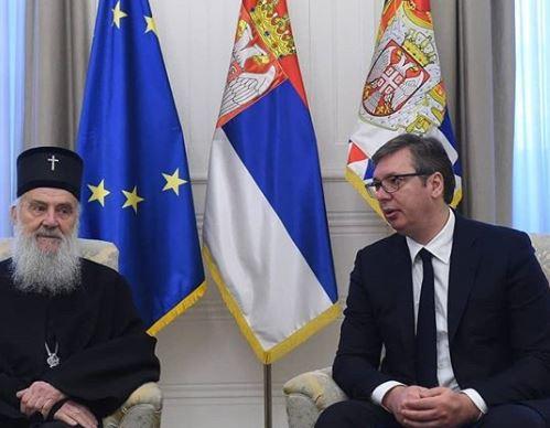 Vučić i Irinej: U Crnoj Gori cilj da se protjera srpski narod, uništi SPC i stvori nova nacija - crnogorska