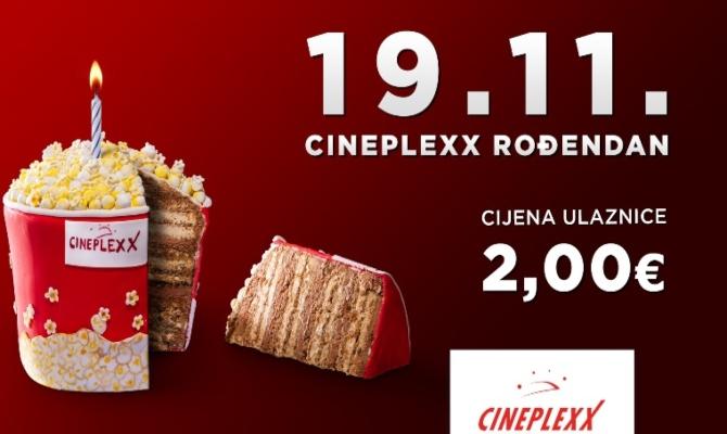 Cineplexx danas slavi osmi rođendan