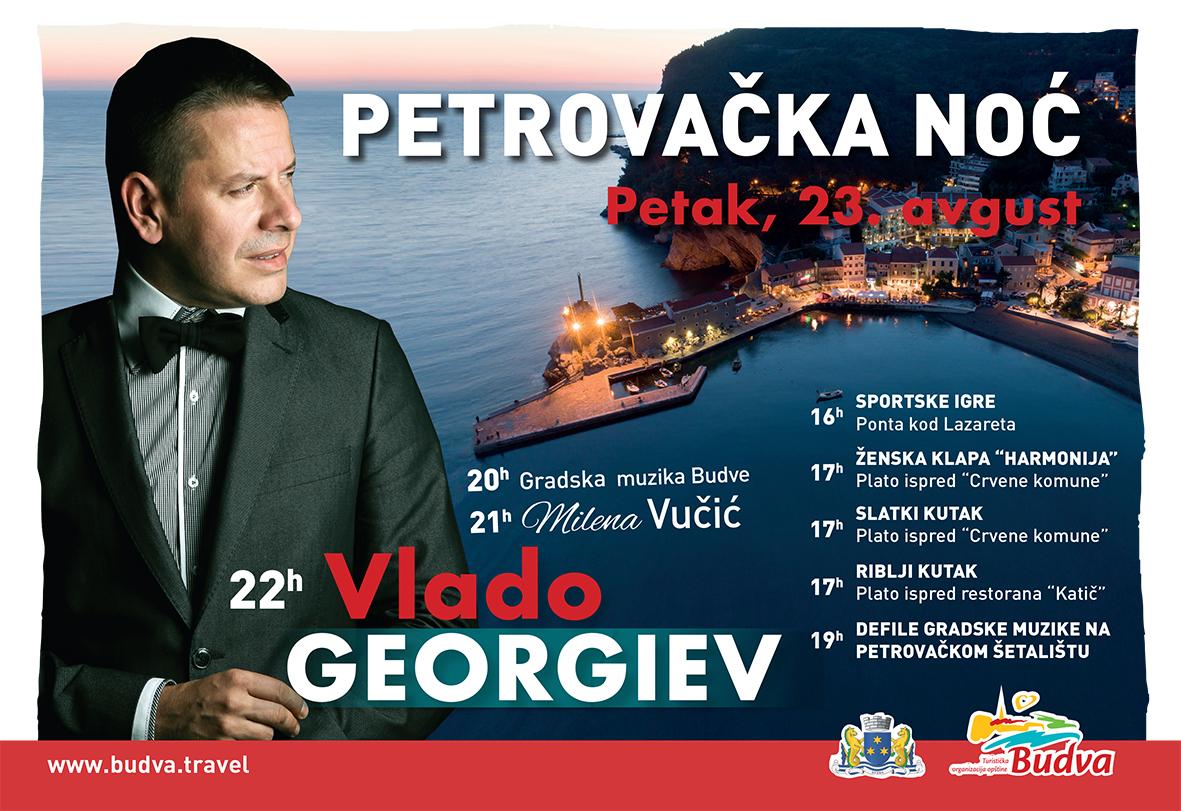 """Vlado Georgijev 23. avgusta na """"Petrovačkoj noći"""""""