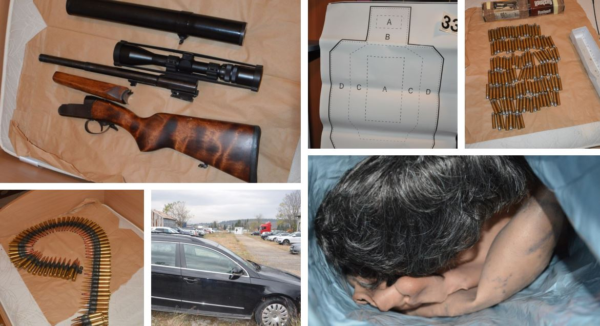 Rasvijetljeno ubistvo Kruščića i pokušaj ubistva Lakić: Pogledajte šta je sve poliicija zaplijenila od kriminalne grupe