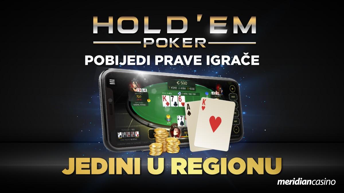 Texas Hold'em – najbolja pokeraška igra svih vremena na klik od tebe