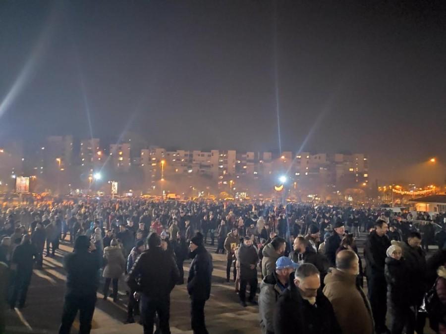Vjernici SPC protestovali u više gradova
