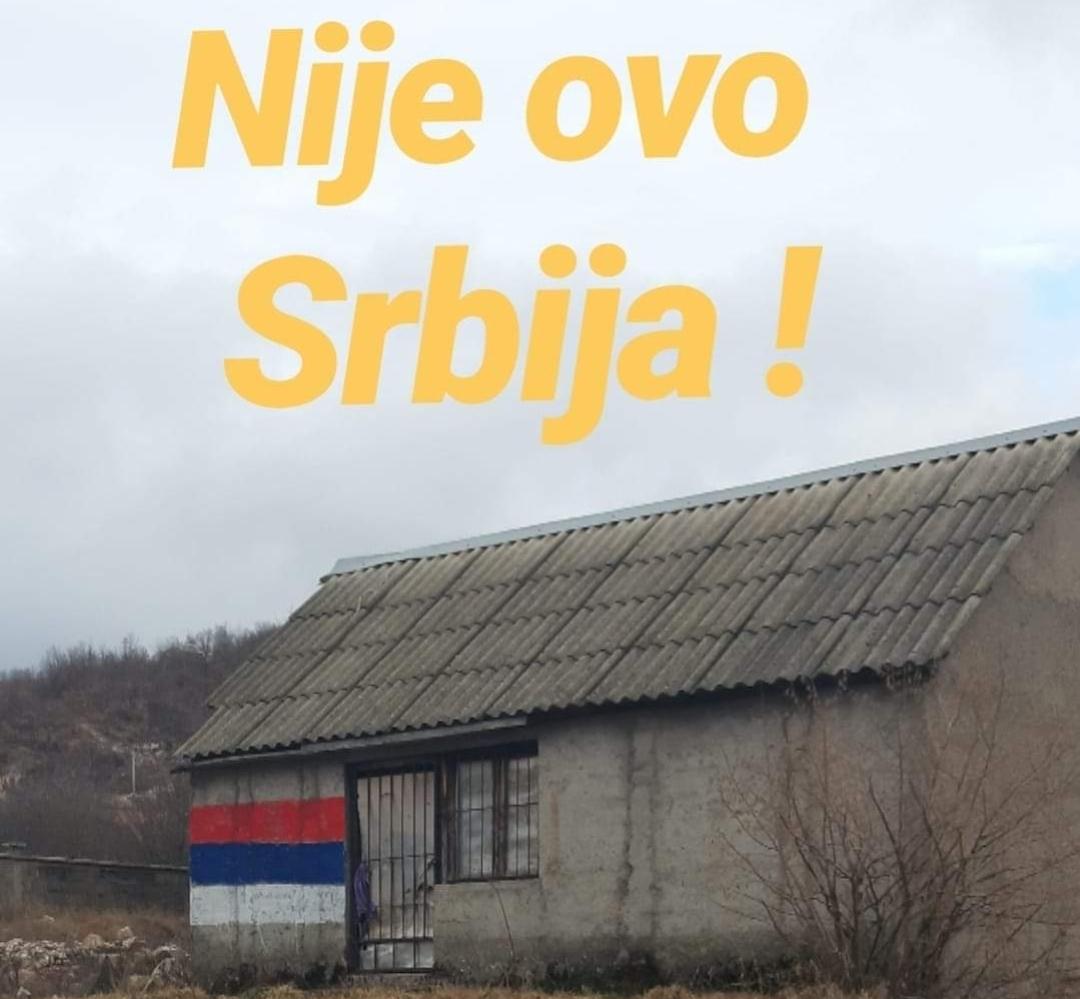 """Trobojka u Župi, Nikšićani poručili- """"nije ovo Srbija"""""""
