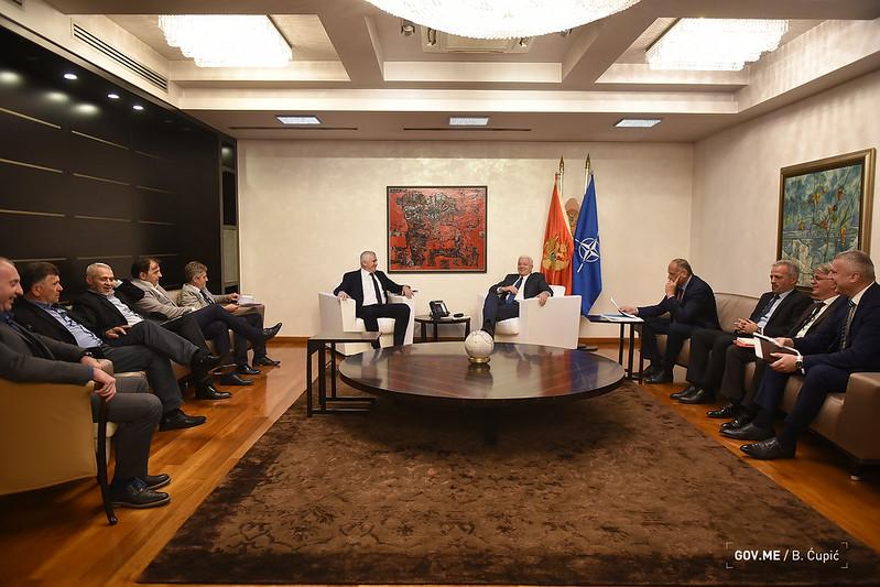 Marković sa Kekovićem i Zarubicom: Ozbiljni smo partneri i dobro sarađujemo