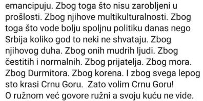 Neobičan status Novosađanke: Zašto Crna Gora?
