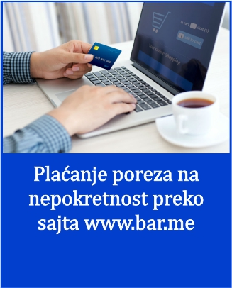 Opština Bar uvela elektronsko plaćanje poreza i turističke takse