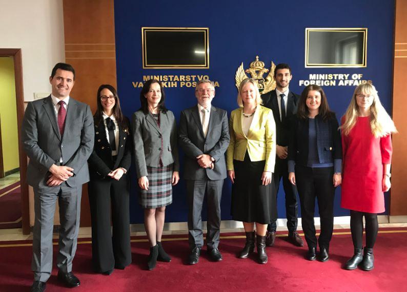 Održane bilateralne konsultacije između ministarstava CG i Estonije