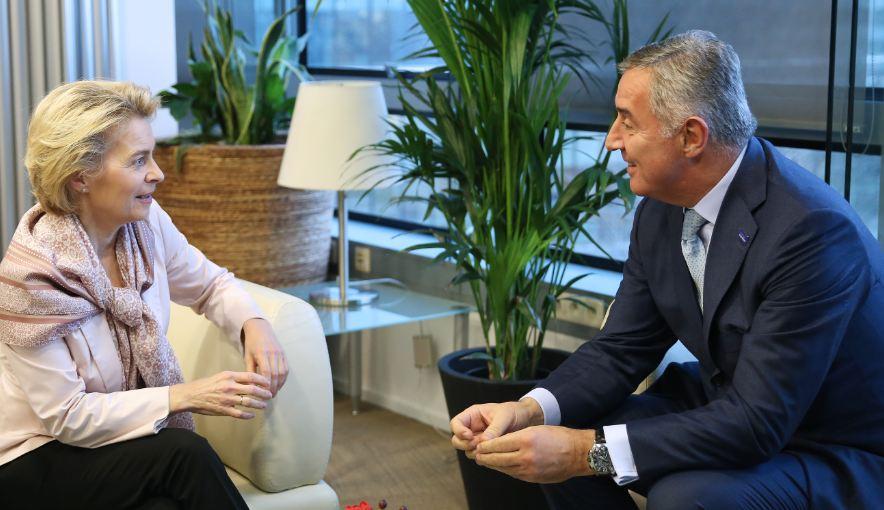 Đukanović se sastao sa Fon der Lajen: CG spremna da i dalje bude promoter evropskih vrijednosti