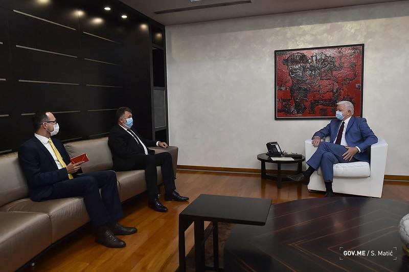 Marković - Gandel: Odlična bilateralna saradnja Crne Gore i Slovačke