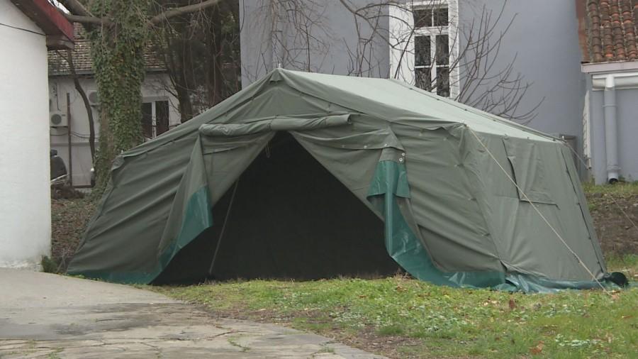 KC preduzeo mjere: Šatori postavljeni preventivno, nema mjesta panici