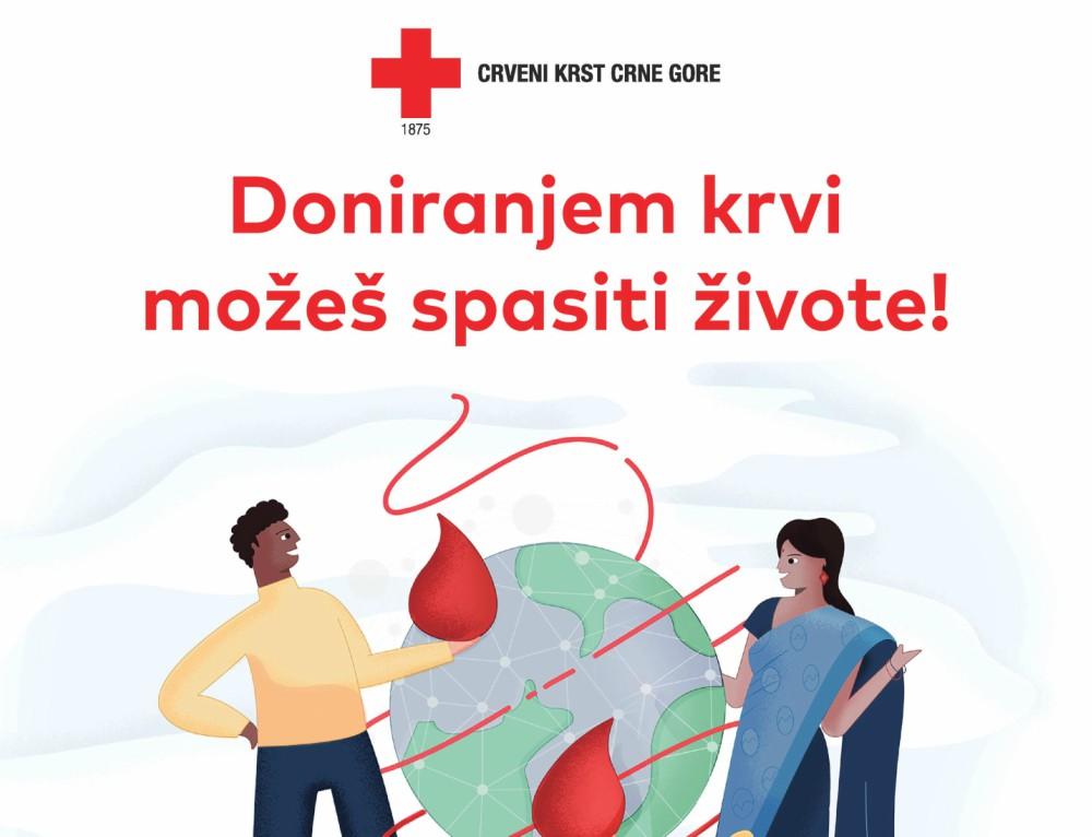 Crveni krst obilježava Svjetski dan dobrovoljnih davalaca krvi