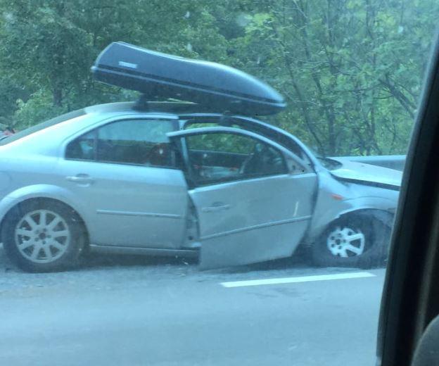 Saobraćajna nezgoda na putu Podgorica - Kolašin