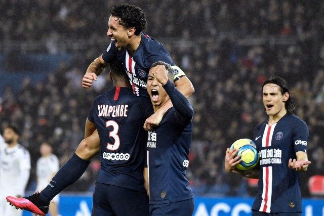 Sedam golova u Parizu u trijumfu PSŽ-a