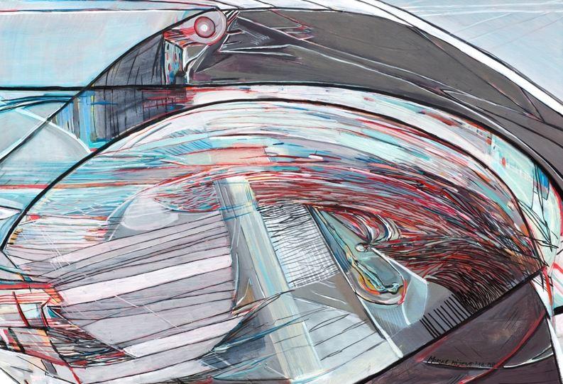 Otvaranje izložbe slika Milene Perović