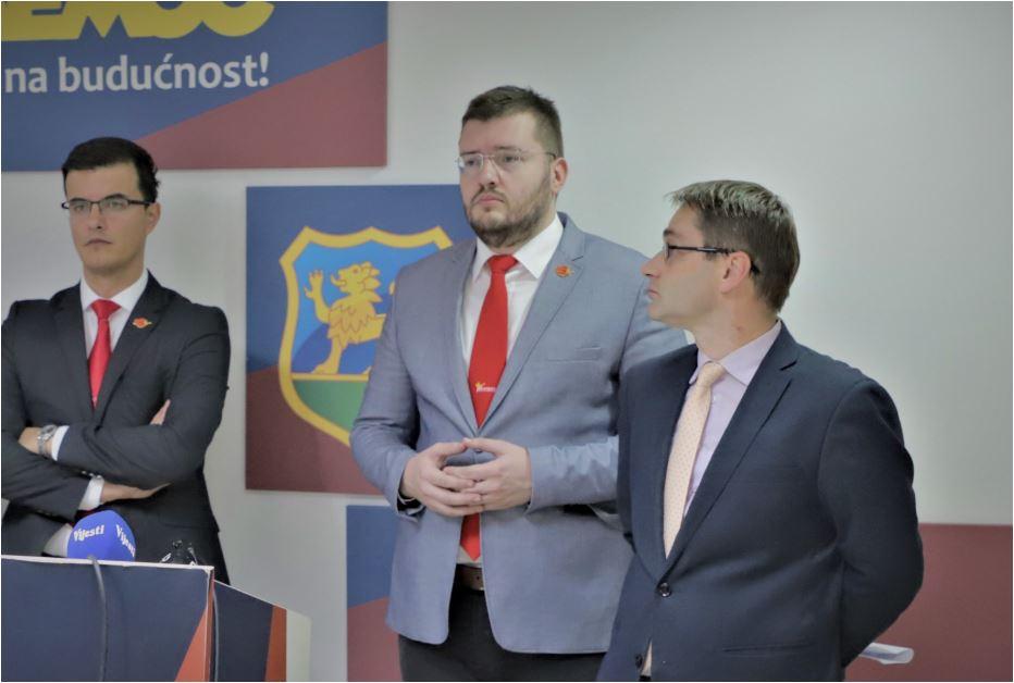 Koprivica, Šaranović i Rudović traže vanrednu sjednicu Odbora