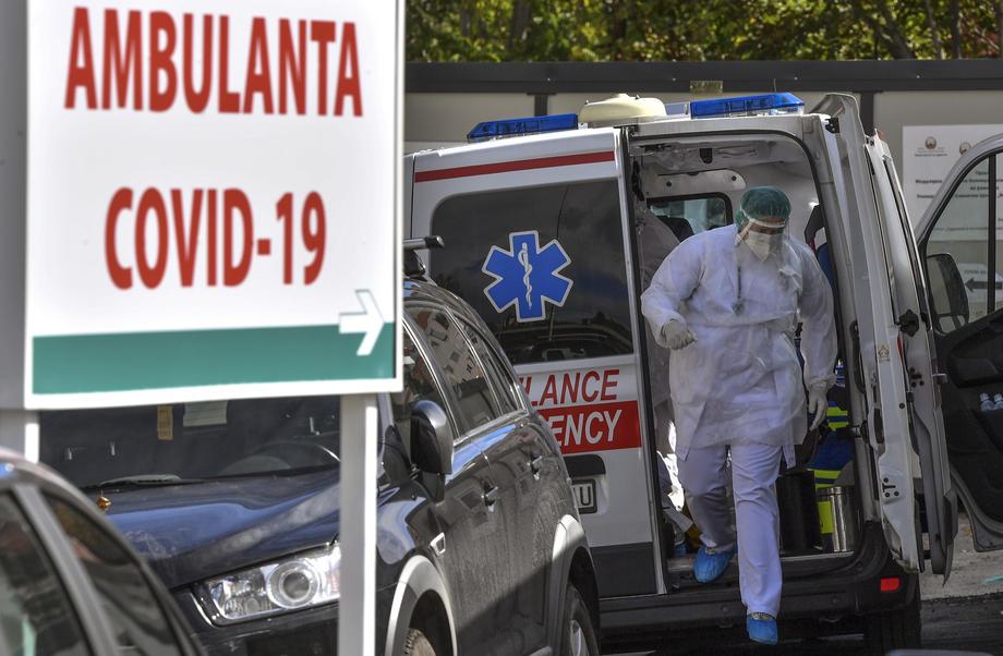 U Sjevernoj Makedoniji 641 novozaraženi, 12 osoba preminulo