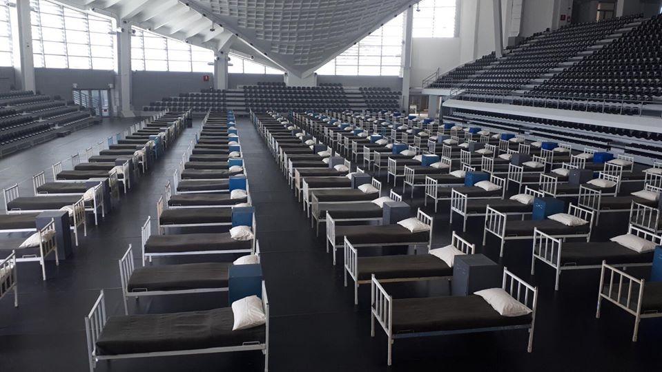 Pogledajte Bemax arenu: Ako zatreba opremiće i SC Morača, dvoranu u Beranama...