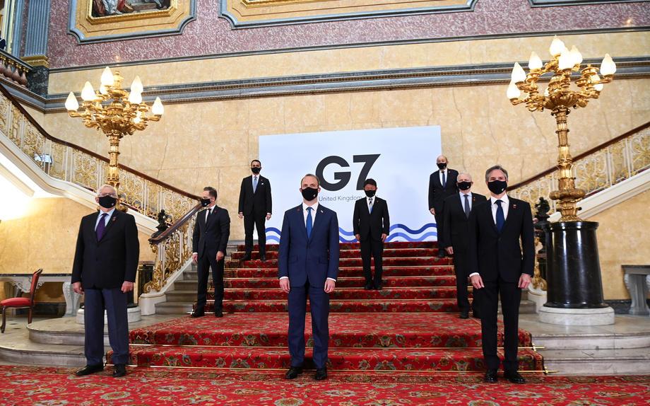 Šefovi diplomatija Britanije i SAD: Zemljama G7 potrebni su novi saveznici