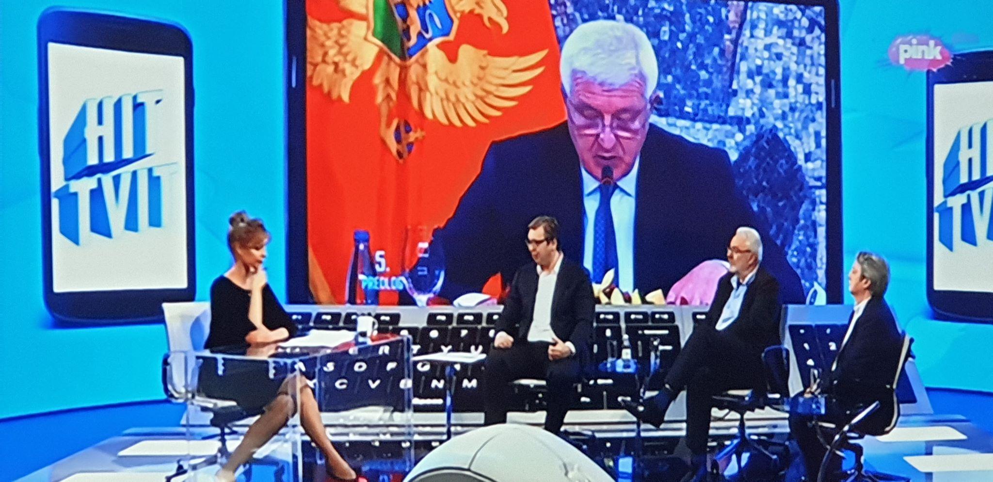 Vučić CG: Hvala dragi prijatelji što ste otvorili granice, ali kao da nijeste