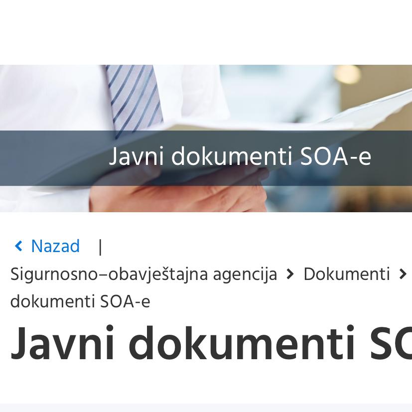 Hrvatska SOA: Srpski svet destablizuje odnose na jugoistoku Evrope, posebno  BiH i Crnu Goru