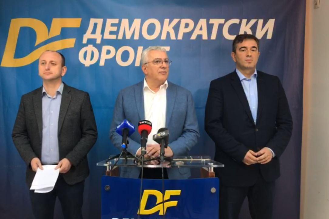 DF podnosi krivične prijave protiv Kneževića, Stijepovića, Đukanovića i Katnića