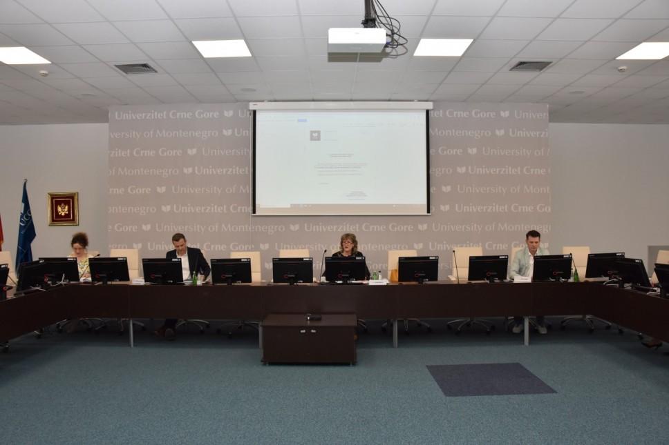 Upravni odbor Univerziteta Crne Gore predložio za upis u prvu godinu studija 3.339 mjesta
