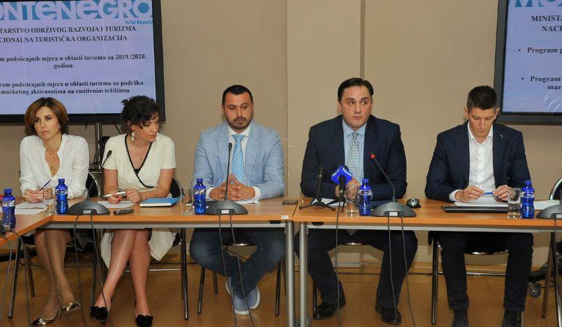 Rezultat slika za Javni poziv za Program podsticajnih mjera za oblast turizma u vrijednosti od 800.000 eura.