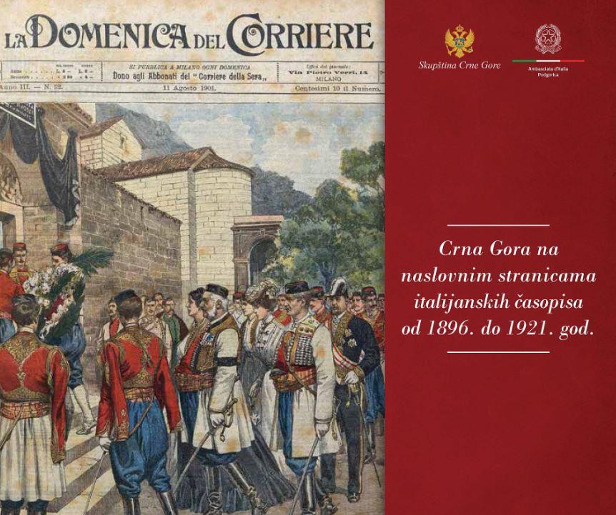 Izložba povodom 140 godina diplomatskih odnosa Crne Gore i Italije