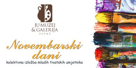 Kolektivna izložba mladih slikara u Tivtu