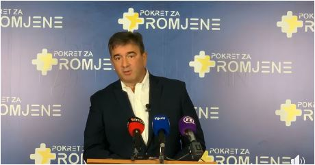 Medojević: Vladu formiraju vlasnici Vijesti, Davidović i Perović uz asistenciju Božovića