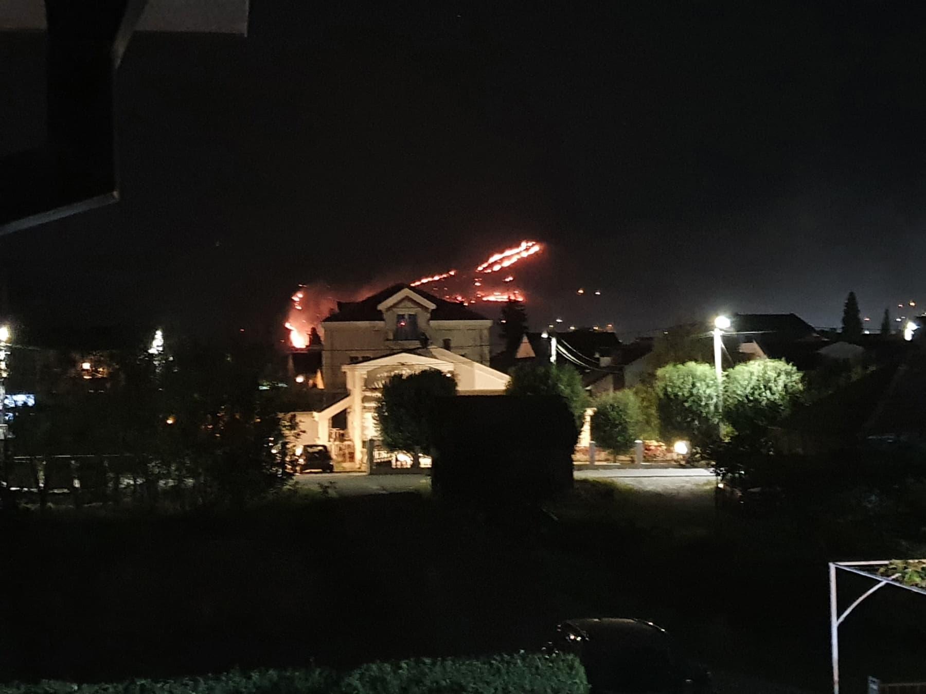 Veliki požar na Smokovcu: Vatrogasci odbranili kuće, ima još ugroženih
